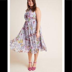 NEW! Anthropologie Hermia Midi Dress